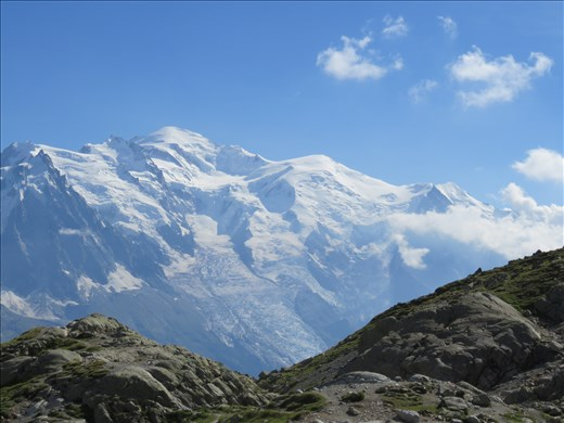 Mont Blanc - view from refuge