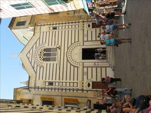 Monterosso - church