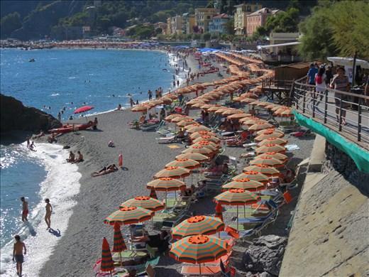 Monterosso -  2nd beach area (round the headland) - not