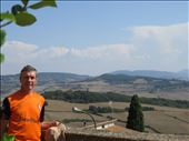 Pienza - view out over countryside: by jugap, Views[160]