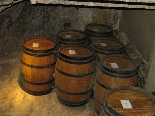 Montepulciano - wine cellar - on way to tasting session