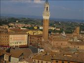 Siena - view of rooftops from one of the Duomo buildings: by jugap, Views[158]