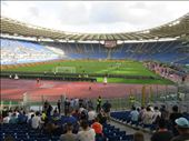 Rome - Olympic Stadium (2004) - soccer teams warming up: by jugap, Views[117]
