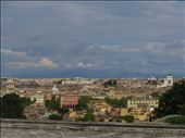 Rome - view of Rome rooftops on hill above Trastevere: by jugap, Views[33]