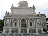 Rome - fountain on hill above Trastevere: by jugap, Views[62]