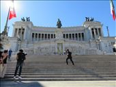 Rome - Vittoriano - celebrating  Italy's unification: by jugap, Views[83]