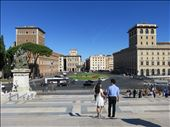 Rome - Piazza Venezia -in front of Vittoriano - Think movie Roman Holiday: by jugap, Views[48]