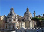 Rome - 2 churches close together near Vittoriano: by jugap, Views[62]