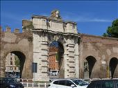 Rome - roman gate near cathedral: by jugap, Views[237]