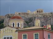 Athens - Acropolis - view up from local street: by jugap, Views[101]