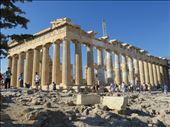 Athens - Parthenon - side view: by jugap, Views[151]