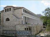 Athens - Stoa of Attalos - close up view: by jugap, Views[153]