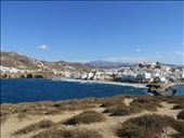 Naxos - view across to part of town from temple area: by jugap, Views[79]