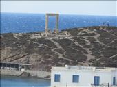 Naxos - temple view from town: by jugap, Views[66]