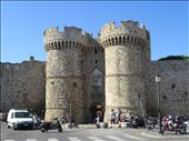 Rhodes = one of the gates into the old town: by jugap, Views[13]