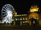 Belfast City Hall by night...yes that is a ferris wheel!: by juliethenomad, Views[237]