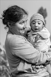 I still feel somewhat uncomfortable with myself for taking this shot as it appears so exploitative at first glance, but this woman had been so proud and eager to get a photograph of her baby that I couldn't refuse. But this was exactly the sense of acceptance that I felt within the Kalimpong community. These people are so strong, with an incredible adaptability to whatever dilemmas come their way.: by juliezhuphotography, Views[415]