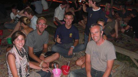 The Bucket Bar in Vang Vieng