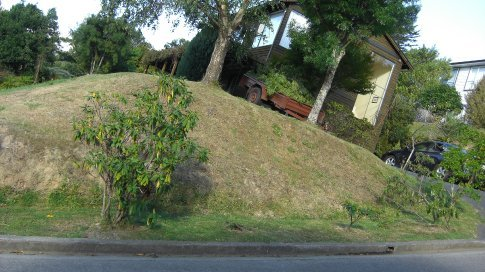 It's very very steep