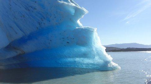 Stunning Aqua Blue Icebergs