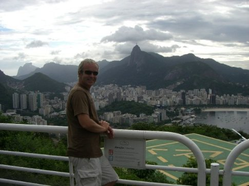 Yet another view over Rio, and me