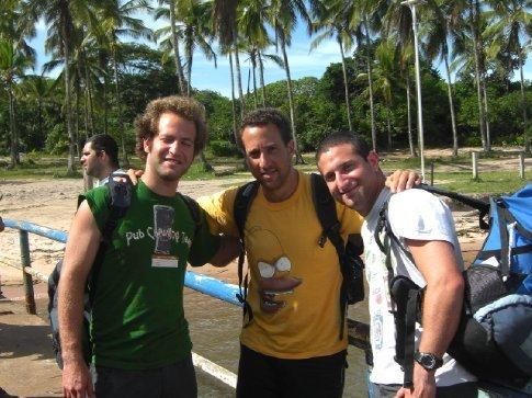 Eyal, Ron and Yaron