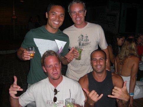 Yukio, Me, Malte, and can´t remember his name