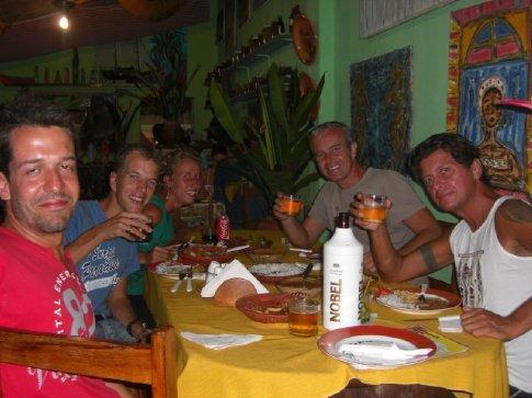 Anderton (Brazil) , Abel, Joline, Me and Robert