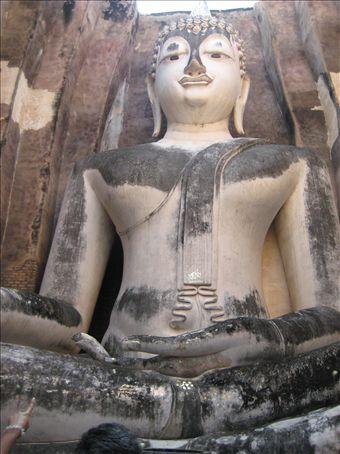 Buddha, Wat Si Chum, Sukhothai