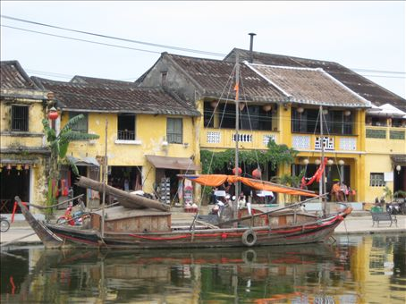 Hoi An from across the river