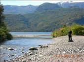 Going for a walk along the beach near San Martin de los Andes : by justinzani, Views[186]