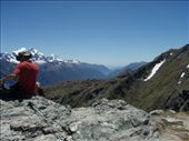 Looking down the Hollyford Valley from the top of the Routeburn: by justinzani, Views[200]