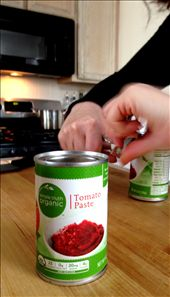 Add 12 ounces tomato paste & 3 cans water: by justtojess, Views[160]