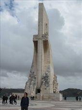 Yo, cerca del monumento a los descubridores en Belém.: by jvgarcia, Views[672]