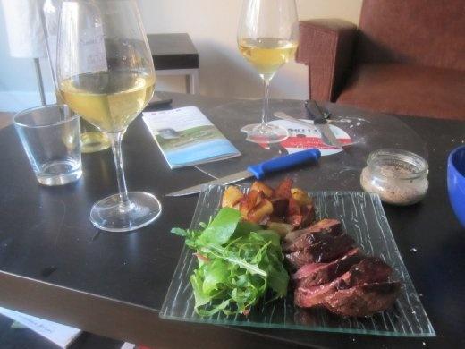 Bon appetit! Merci, Laure!