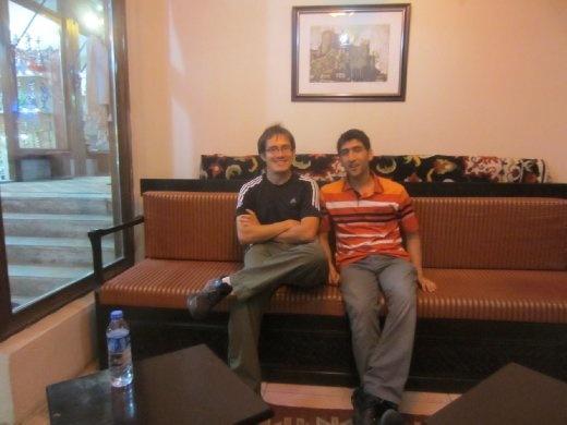 Uno de mis amigos turcos de Erzurum.  ¡Muchísimas gracias!