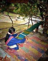 village woman making cloth: by jznack, Views[197]