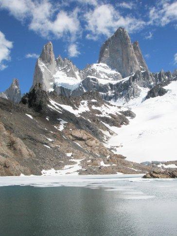 Laguna de los Tres y Fitz Roy, el Chaltén (Argentina)
