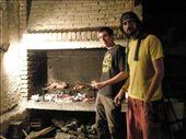 Los asadores, haciendo asado argentino para 12: by k-lero, Views[2522]