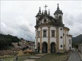 Una de las múltiples iglesias de Ouro Preto: by k-lero, Views[963]