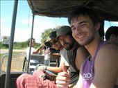 Recién llegados al Pantanal, en nuestro transporte privilegiado.: by k-lero, Views[325]