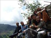 Otra foto de grupo, subidos en unas escaleras en Pisac: by k-lero, Views[472]