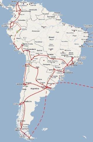 Comenzó por Sudamérica