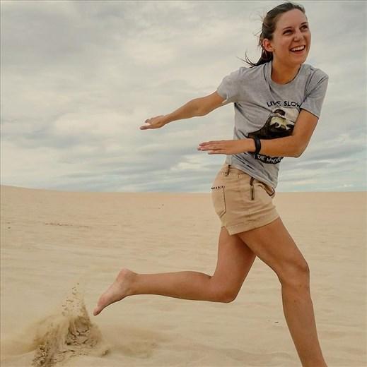 Sandboarding in Kangaroo Island