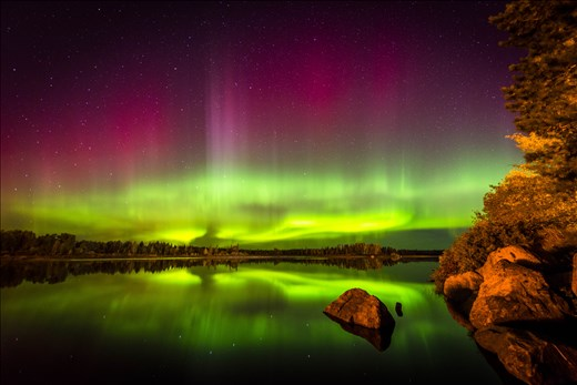 Geomagnetic storm underway, one of the most incredible nights of my life.