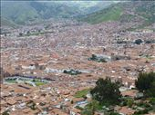 Cusco - this is a much larger city than I thought it would be.  Urban sprawl.: by kabrjb, Views[393]