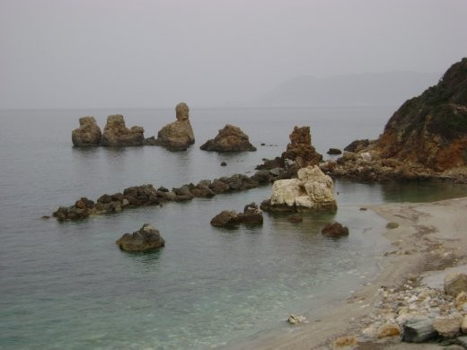 Rocks on Sea, the name of this is