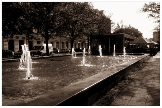 Fountain Alley. My magical place, where I love to go back.