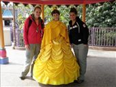 belle who also magically becomes the little mermaid...lol...i think there is a shortage we offered to become princesses: by kaitieandcaroline, Views[611]