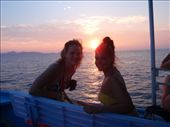 kaitie and Caroline enjoying the sunset on the boat: by kaitieandcaroline, Views[137]
